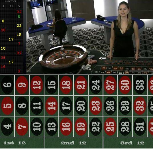 Live Roulette sur Celtic Casino