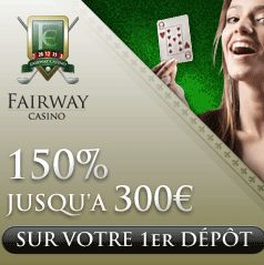 Bonus special Fairway Casino