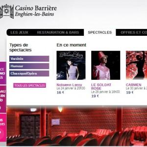 Roulette electronique et Sic Bo au Casino Enghien-Les-Bains