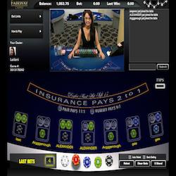 Live Blackjack avec croupiers en direct