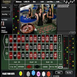 Live Roulette Fairway casino