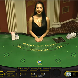 Live Blackjack Monsieur Vegas
