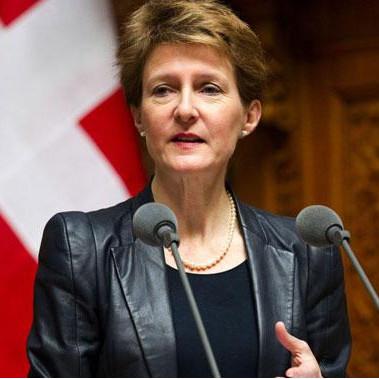Nouvelle loi sur les jeux d'argent par Simonetta Sommaruga, ministre de la justice suisse