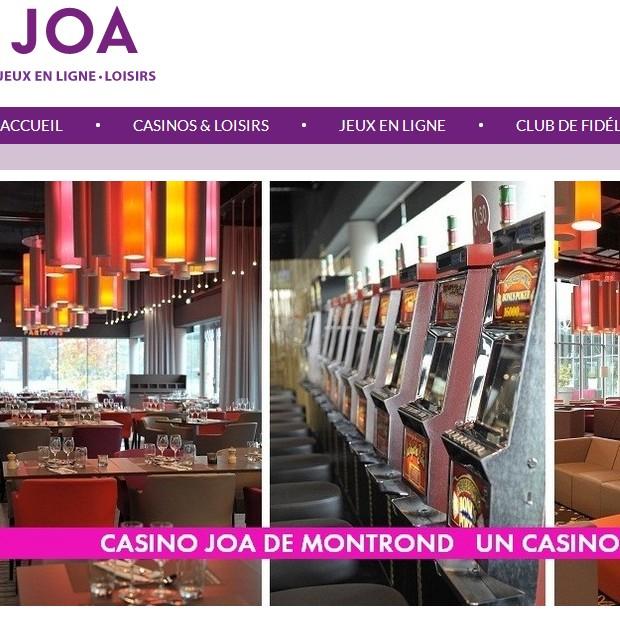 Joacasino de Montrond-les-Bains diversifie ses activités