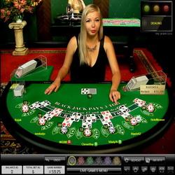 Live Blackjack sur Casino Luck
