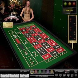 table de roulette sur Casino Luck
