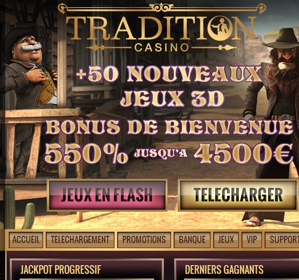Tradition live casino
