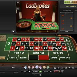 Roulette en ligne sur Ladbrokes Casino