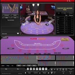 Baccarat en live sur Ladbrokes Casino