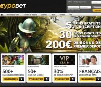 Eypobet Casino améliore ses bonus et assistance clientèle