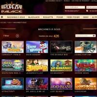 Machines a sous sur Tropezia Palace Casino
