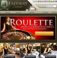 Fairway Casino avec croupiers en direct