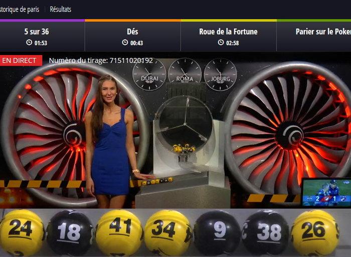 Loto en ligne sur Lucky31 Casino