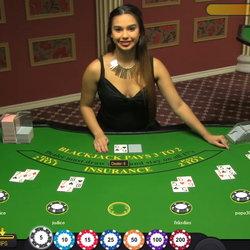 Blackjack sur Euromoon casino