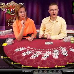 Blackjack Party sur Casino777