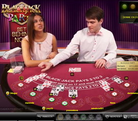 Blackjack Party : Jouer au black jack en musique