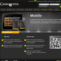 Casino Extra 500 jeux Mobile