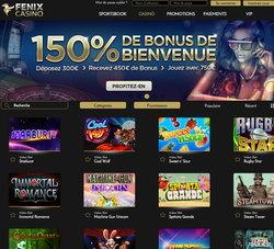 Fenix Casino rejoint les live casinos de Croupiers en Direct