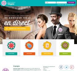 Monsieur Vegas: Casino en ligne francais