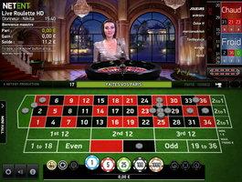 Roulette en ligne Netent sur Eypobet