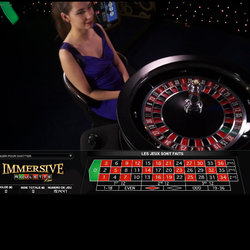 Roulette immersive en ligne de Evolution Gaming