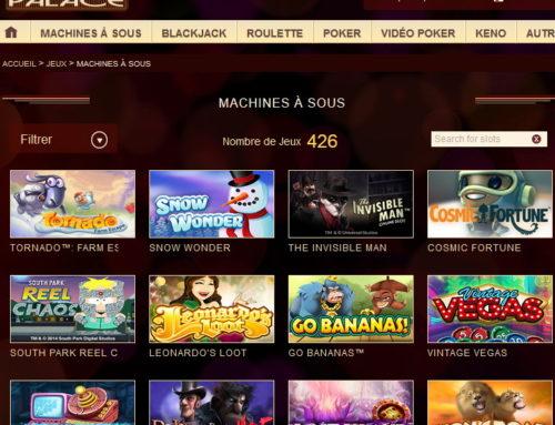 Tropezia Palace Casino: 426 machines à sous gratuites