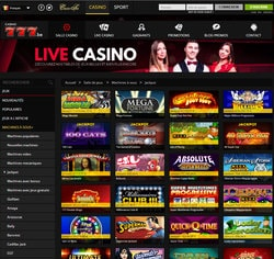 casino en ligne jackpot progressif