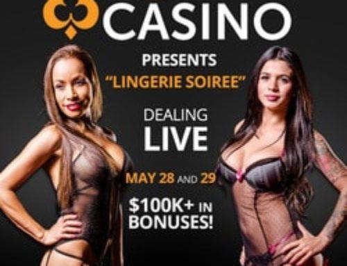 Quand Pornhub Casino met ses croupières en Lingerie