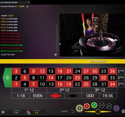 Top Roulette Immersive