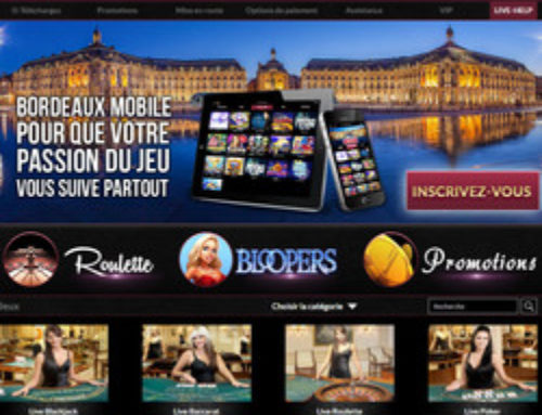 Casino Bordeaux et ses tables Vivo Gaming