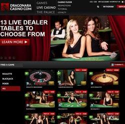 Dragonara Online: live casino maltais