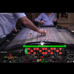 Roulette en direct du Dragonara Casino