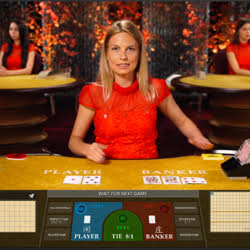 Table de baccarat en live