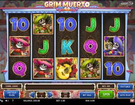 Machine a sous Grim Muerto de Play'n GO