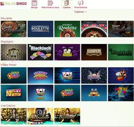 OnlineBingo : live casino avec croupiers en direct