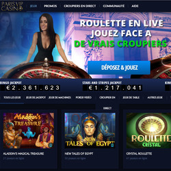 Paris VIP Casino et Visionary Gaming