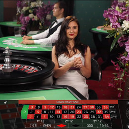 Live Casino : roulette en ligne