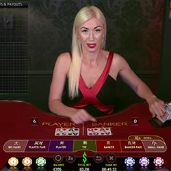 Live Baccarat sur Cashpot Casino