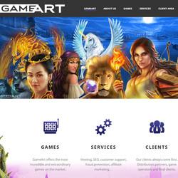 Logiciel GameArt: éditeur de jeux de casino