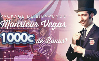 Bonus Monsieur Vegas