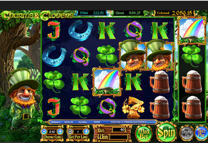 Machine a sous Charms and CLovers Betsoft