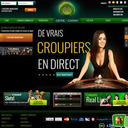 Tournois Celtic Casino: jouer en direct live