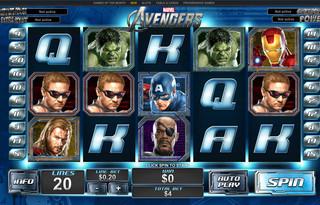 Machine a sous The Avengers