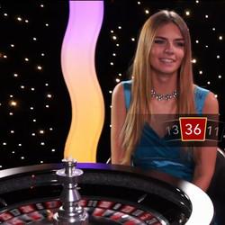 Roulette en live sur Exbet Casino
