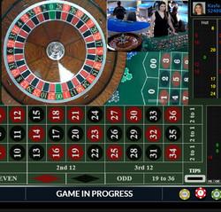 Roulette en live Fairway Casino