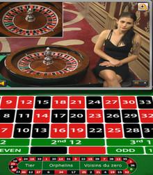 Live roulette Xpro Gaming sur Cresus Casino
