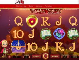 Machine a sous FairyTale Legends sur Lucky31 Casino
