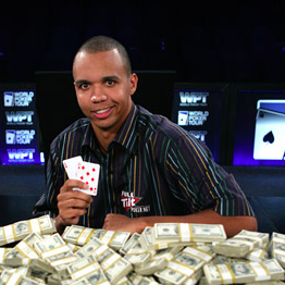 Phil Ivey joueur professionnel de poker et baccarat
