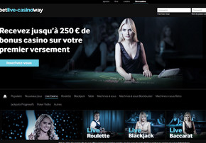 Betway Casino sur Croupiers en Direct
