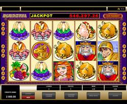 Jackpot progressif King Cashalot